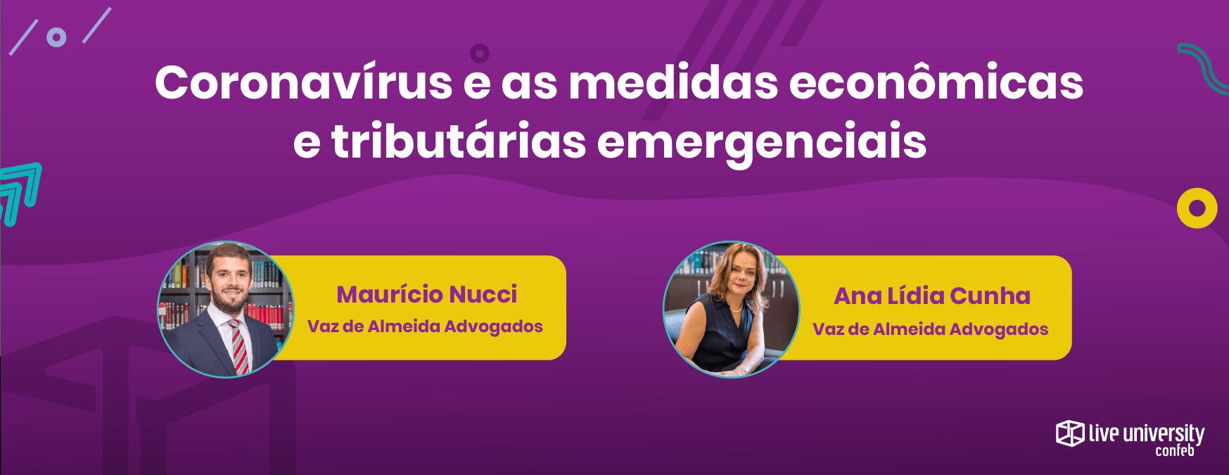 foto dos entrevistados sobre coronavírus e as medidas econômicas e tributárias emergenciais