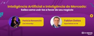 Inteligência Artificial e Inteligência de Mercado mais fotos dos entrevistados
