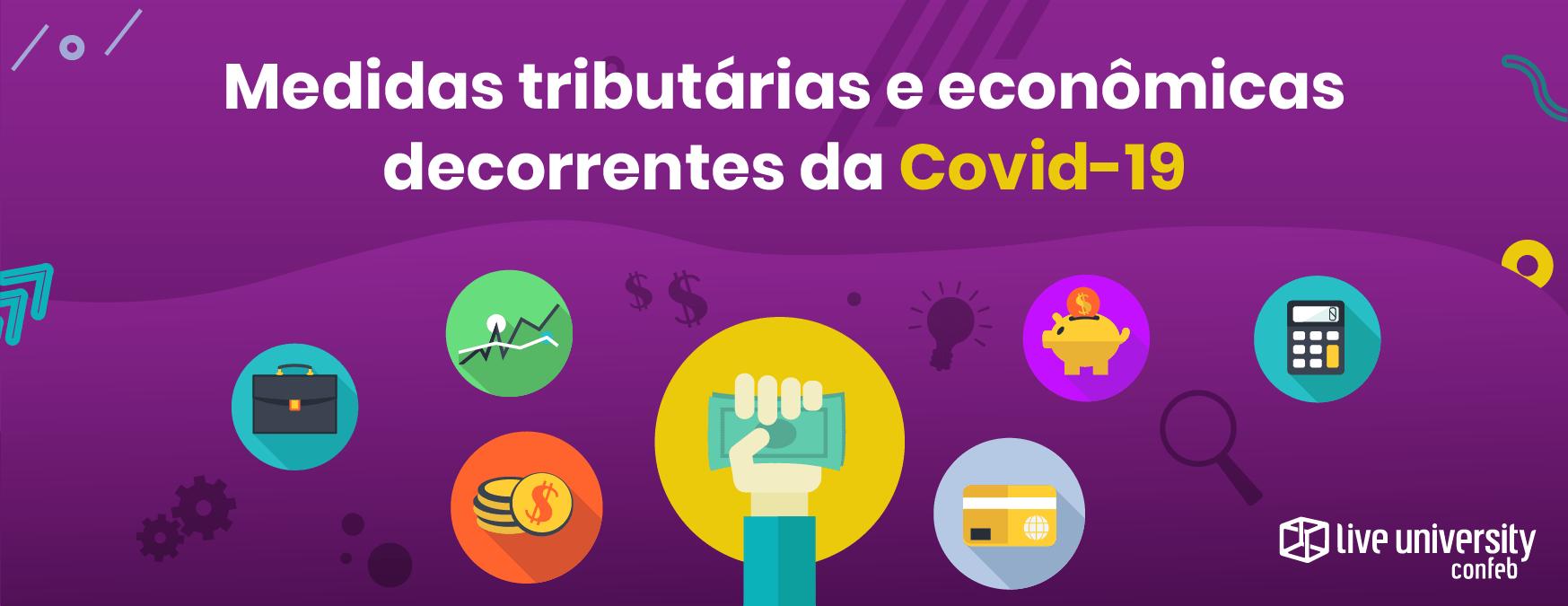 ilustração do artigo sobre medidas tributárias e econômicas da covid-19